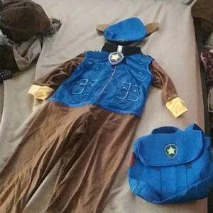 Chase paw patrol costume